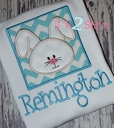 Bunny Box Boy Face Applique - 3 Sizes! | Easter | Machine Embroidery Designs | SWAKembroidery.com The Itch 2 Stitch