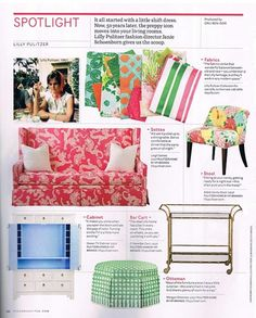 Lilly Pulitzer Home Collection...