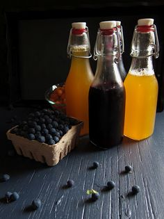 Berry Simple Syrups
