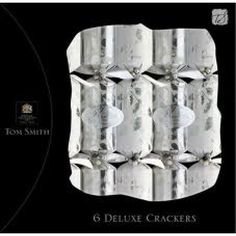 Deluxe Crackers Silver Leaf 6pk