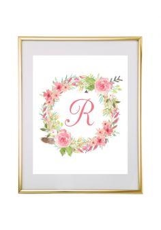 free-printable-monogram-watercolor-wreath-1