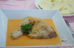 Paprikás csirke knédlivel