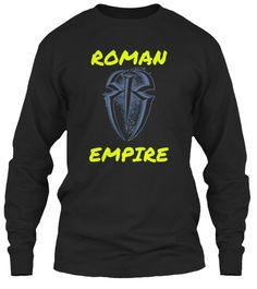 Roman Empire  Black T-Shirt Front