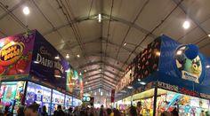 Showbag pavilion at Ekka