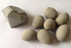 diy beton-diamant og beton-æg...