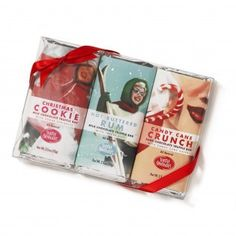 Holiday Bar Trio by Seattle Chocolates $11.99
