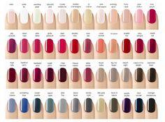 gel nail polish colors