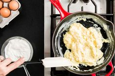 How to Make Perfect Scrambled Eggs - The Secret To Scrambled Eggs