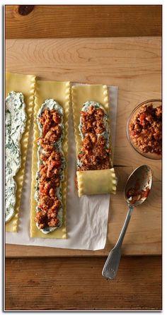 Meat-Lovers' Lasagna Roll-Ups Make-Ahead Meat-Lovers' Lasagna Roll-Ups.perfect for Ant when I make eggplant lasagnaMake-Ahead Meat-Lovers' Lasagna Roll-Ups.perfect for Ant when I make eggplant lasagna Meaty Lasagna, Taco Lasagna, Alfredo Lasagna, Chicken Alfredo, Freezer Lasagna, Lasagna Noodles, Make Ahead Lasagna, Sausage Lasagna, Lasagna To Freeze