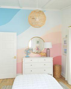 Girls Room Paint, Girl Bedroom Walls, Bedroom Murals, Girl Room, Bedroom Decor, Bedrooms, Playroom Paint, Playroom Mural, Girls Bedroom Colors