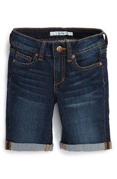 Joe's 'Samantha' Rolled Cuff Bermuda Shorts (Big Girls)