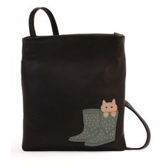 Ciccia Puss In Boots Mini Cross Body Bag Chocolate Brown