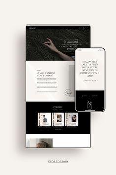 Projet de branding pour le Podcast de Slow Living Sillage. Réalisation du concept web et design du site web. Design minimaliste et inspirant pour un média qui propage la notion du beau durable et du luxe avec conscience.