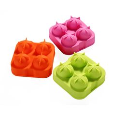 2016 DIY Sphere Silicone Ice Ball Mold Ice Tray Maker Ice Cube Party Drink FDA Kitchen Cocktail Whisky Ice Ball Mould H1489