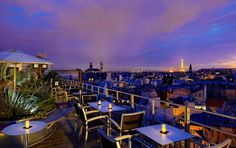 Eiffel Tower View Hotel Room in Paris. Click the link for more hotels in Paris with incredible views!