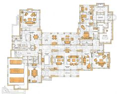 My dream mansion ground floor ♥♥♥♥♥...extend the entry logia to across the music room.....