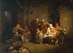 The Blind Fiddler 1806 by Sir David Wilkie  1785-1841