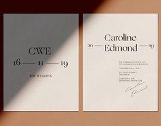 Putting gorgeous typefaces to good use ♡ Lettering, Typography Design, Branding Design, Print Design, Web Design, Design Ideas, Graphic Design, Layout Design, Design Inspiration