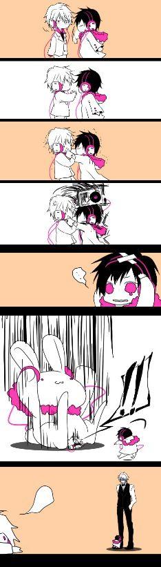 Durara: Shizuo and Izaya's babies...what a stranger battle.