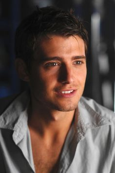 Julian Morris...if that face doesn't get you, his accent will.