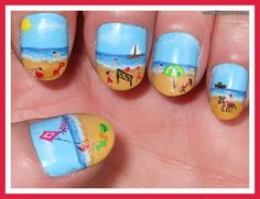 cool and easy nail designs for short nails The person to pin this before me said this was easy.... WHAT?