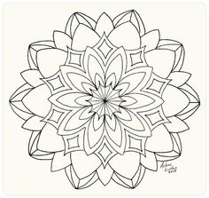 A collection of pictures: Round lace. Painting lessons from Arlene Linton Mandala Drawing, Mandala Tattoo, Mandala Art, Mandala Design, Mandala Coloring Pages, Coloring Book Pages, Printable Coloring Pages, Lace Painting, Mandala Painting