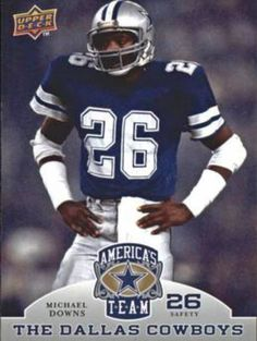 Dallas Cowboys Decor, Dallas Cowboys Pictures, Dallas Cowboys Football, Cowboys Players, Cowboy Images, How Bout Them Cowboys, Cowboy Up, Love My Boys, Football Cards