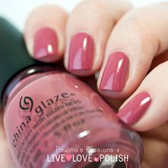 """"""" Fifth Avenue"""" - is a gorgeous dusty rose. I included this shade in the """"nudes"""", because I feel it's very subtle, but more of a bold nude at the same time. It's also one of those colors that you don't think you are going to like until you paint your nails."""
