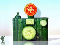 9 Esculturas impresionantes creadas con simples vegetales