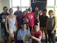 Feeling happy that our 3D4Medical 'Medical Misfits' tag rugby team were featured in the Metro Herald. #fitness #health #tagrugby
