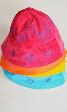 Cerise Funky Chicken Hat and Bag Kit Chicken Hats, The Fosters, Sewing, Prints, Blog, Bright, Kit, Beautiful, Cherry