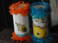 Birthday Party Mini Pinatas Candy Goody por Sweetladybug5Pinatas