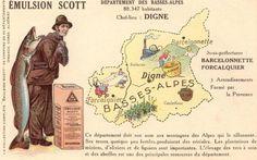 Le Département des Basses-Alpes (désormais Alpes de Haute Provence)