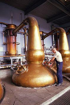 Pot Stills Vs. Column Stills: The Two Kinds of Spirits Whiskey Distillery, Whisky, Brewery, Column Still, Apple Press, Copper Still, Moonshine Still, Moroccan Lighting, Pot Still