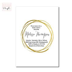 If you are shopping our site you are planning an engagement party, bridal shower, wedding or are now expecting a baby and need to announce it to Modern Invitations, Gold Invitations, Bridal Shower Invitations, White Bridal Shower, Gold Bridal Showers, Engagement Party Planning, Expecting Baby, Gold Glitter, Hand Painted