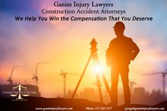 Ganim Injury Lawyers Construction Accident Attorneys We Help You win the compensation That You Deserve  #constructionaccidentattorneys