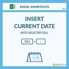 Insert current date in excel in Perth