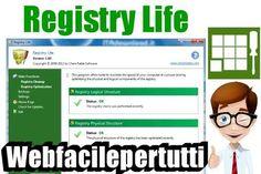 (Registry Life) Programma Gratuito Per Analizzare il Registro Di Windows e Rilevare e Riparare Gli Errori Programma Gratuito Per Analizzare il Registro Di Windows e Rilevare e Riparare Gli Errori  Ritorniamo a parlare di programmi gratuiti , oggi vogliamo segnalarviRegistry Life un software davver sempl #registrylife #analizzare #windows