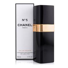 Chanel - Chanel N. 5 50 ml EDT Refillable spray - Kvinder