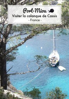 visiter port-miou, dans les calanques de marseille Cassis France, Marseille France, Packing For Europe, Backpacking Europe, Places In Europe, Places To Visit, Week End En Famille, Weekend France, Canal Du Midi