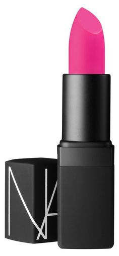 NARS Lipstick in Schiap $26. Get spring's knockout pout with punched-up pink!