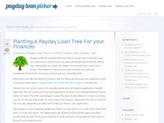 Payday Loan Picker