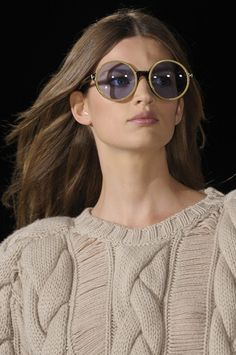 Tommy Hilfiger Spring 2013 - Details - drop stitch, huge cables