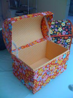 bau de caixa papelao - Pesquisa Google