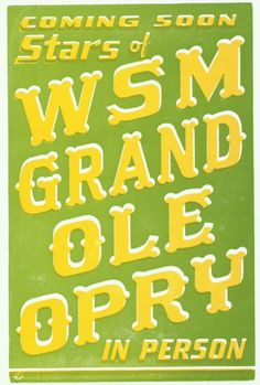 WSM Grand Ole Opry