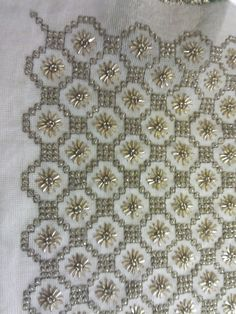 Couture Embroidery, Beaded Embroidery, Hand Embroidery, Embroidery Designs, Needlepoint, Cross Stitch, Blanket, Beads, Rugs