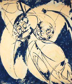 Lee Krasner, 'Mister Blue,' 1966