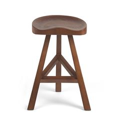 Walnut Wood Moulded Bar Stool | Stools | CHAIRS - Me and My Trend