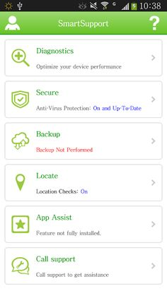 SmartSupport protects your device, data and privacy. With SmartSupport you can remotely locate, alarm, lock, and wipe your device. SmartSupport safeguards you from viruses and can optimize device performance. Your photos, videos, and contacts are safe and securely backed up in the SmartSupport cloud automatically. And you can contact SmartSupport technicians for any device help. Download the StarHub SmartSupport app today. 1. Locate and Secure Your Device Just login to SmartSupport ...