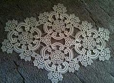 Thread Crochet, Crochet Motif, Irish Crochet, Crochet Doilies, 40th Wedding Anniversary, Irish Lace, Diy Hanging, Party Themes, Diy And Crafts